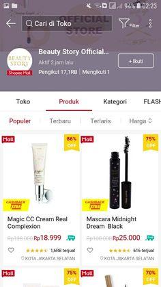 Online Shop Baju, Best Online Clothing Stores, Makeup Store, Shopping Websites, Girls Life, Skin Makeup, Make Up, Skin Care, Hama