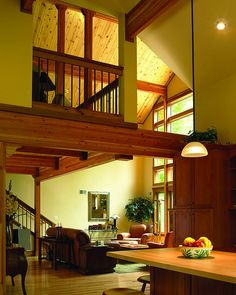 Beams Vaulted Ceilings And Ceilings On Pinterest