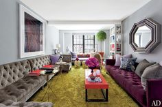 Architectural Digest > Interiors + Inspiration .Stylist Carlos Mota's Fashionable New York Apartment