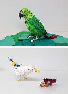 Paper crafts - THINK FEEL CONECT