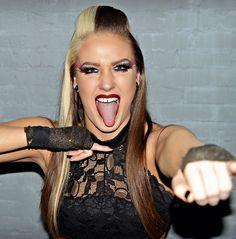 Professional Wrestling, Divas, Halloween Face Makeup, American, Top, Crop Shirt, Shirts