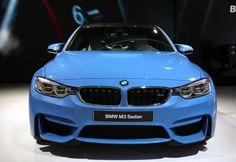 BMW M3 Berline au Salon de Detroit #NAIAS