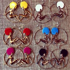 """Afro Diva"" Earrings by Trendy Finds 