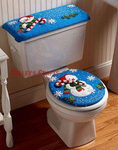 Bucilla Snowman ~ Felt Christmas Bath Ensemble Kit #86155 Greetings Frosty in Crafts, Needlecrafts & Yarn, Embroidery & Cross Stitch | eBay!