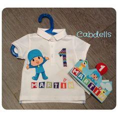 Camiseta de Cumpleaños Pocoyo Boy First Birthday, 3rd Birthday Parties, Denim Crafts, Ideas Para Fiestas, Backdrops For Parties, First Birthdays, Baby Shower, Party, Toddler Boy Birthday