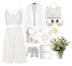 """""""White"""" by lizz-med on Polyvore"""