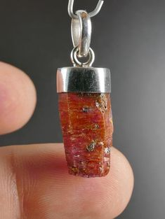 Tanzanian fine Ruby crystal mounted in sterling silver This is unique item you get what is on the picture Free gift box included Setting silver Sterling silver Dimension mm 32 x 10 x 8 mm overall size including setting/bail Weight 5 1 gram Silver Pendants, Stone Pendants, Ruby Crystal, Free Gifts, Drop Earrings, Sterling Silver, Crystals, Box, Unique