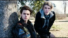 Tyler Young as Philip Shea and James Paxton as Lukas Waldenbeck
