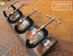 The All American Industrial C-clamp Coat Rack