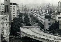 Construção da perimetral anos 60
