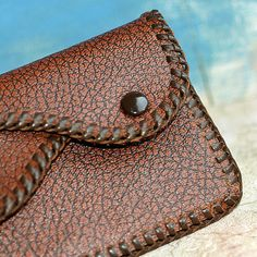 vintage leather coin PURSE... Oct 54 by CoolVintage on Etsy