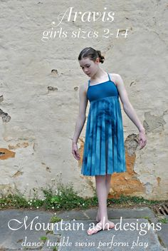 Aravis ballet princess dress pattern and leotard by tumblentwirl