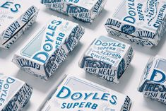 Doyles Seafood Brand Refresh on Packaging of the World - Creative Package Design Gallery