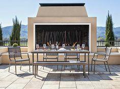 Tulsi Dining Table - Grey