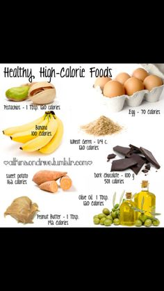 Not all high calorie foods are bad for you.check out these high calorie foods for healthy weight gain. I need to eat more of this stuff Healthy High Calorie Foods, No Calorie Snacks, Protein Foods, Calorie Diet, Get Healthy, Healthy Life, Healthy Snacks, Healthy Eating, Healthy Recipes