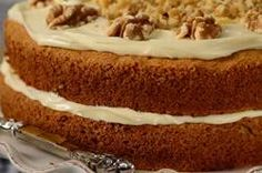 I Love this Carrot cake recipe!  Its especially Moist.   Try it with bits of apple and its even better! Enjoy!
