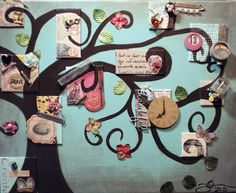 Tree of Life - Mixed Media Artwork For the Wall