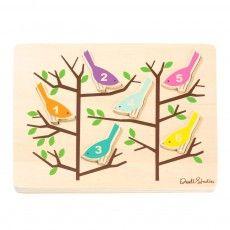 DwellStudio - Puzzle Pájaro