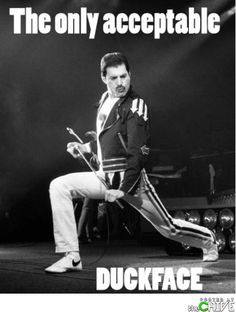 TRUTH! and for you kids out there, THIS is Freddie Mercury of Queen. Sold on things called records!