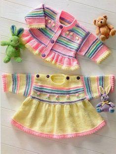 Tığ İşi Bebek Ceket Modelleri (Yeni)