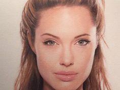 Meglio di una foto: Jordan fa il ritratto a Dicaprio, Jolie, Beckham & co