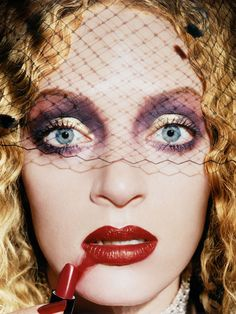 Uma Thurman by David Lachapelle