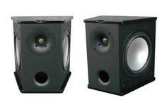 Premier Acoustic PA-8S Surround Speakers - Black