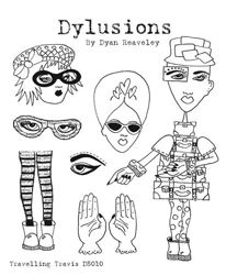 Dyan Reaveley Dylusions Cling Stamps