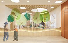 Kindergarten Interior, Kindergarten Design, Coffee Shop Interior Design, Kids Toilet, Kids Play Area, Kid Spaces, Kids Decor, School Design, Decoration
