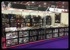 Japan:Cool - Our stall at London Comic-Con May 2016