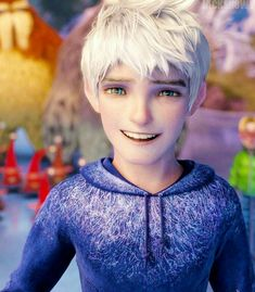 Cute Characters, Disney Characters, Fictional Characters, Twilight Outfits, Jack Frost And Elsa, Disney Princess Frozen, Rise Of The Guardians, The Big Four, Galaxy Background