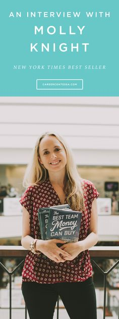 How Molly Knight went from a biology student to a sports writer and New York Times Best Seller. Can you say major career goals!? | CareerContessa.com