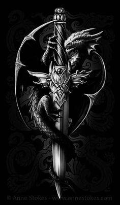 Dragon Cross Tattoo Tattoos of Hannah Chinese Tattoo Designs, Dragon Tattoo Designs, Celtic Dragon Tattoos, Viking Tattoos, Dragon Tattoo With Cross, Dragon Tattoos For Men, Body Art Tattoos, Sleeve Tattoos, Medieval Tattoo