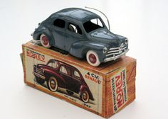 A Norev model car made in France - a miniature representation of a real Renault…    .....................Please save this pin.   .............................. Because for vintage collectibles - Click on the following link!.. http://www.ebay.com/usr/prestige_online