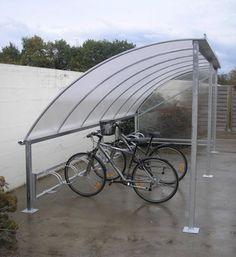 Abri vélos toit arrondi - Série AR - Abris urbains - Logismarket.fr Arch, Outdoor Structures, Veil, Bike Shelter, Urban Design, Rounding, Street Furniture, Belt