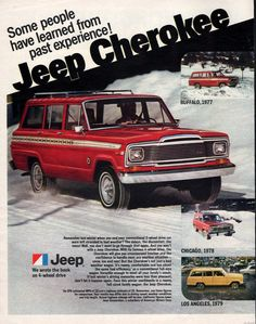 1980 Jeep Cherokee.