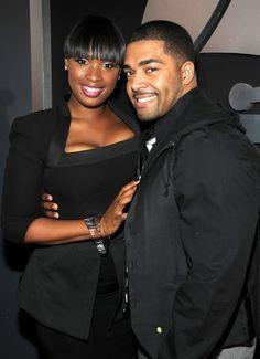 Jennifer Hudson and fiancé David Otunga