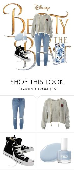 """""""My friend Jalyn"""" by kinleylb on Polyvore featuring Disney, Dorothy Perkins, Sans Souci, Converse and Casetify"""