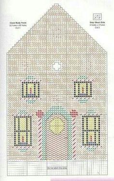 German Christmas clock