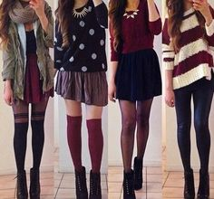With the right inspiration, you can make cute outfits for women that can be a mix of various clothes. Make sure to wear outfits that match with your personality whether you are wearing pants, shirt, dress, Hipster Mode, Hipster Fashion, Cute Fashion, Teen Fashion, Fashion Outfits, Womens Fashion, Fashion Clothes, Fall Clothes, Fall Hipster