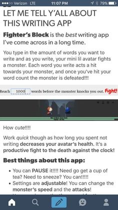 I tried this just on my phone and it was a lot of fun! You can google Fighter's Block and it is the first option.