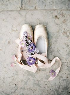 Ballerina Bride & Springtime Wedding Inspiration | Photos by Marina Muravnik