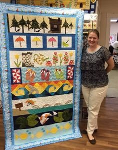 Row by Row Advent Quilt