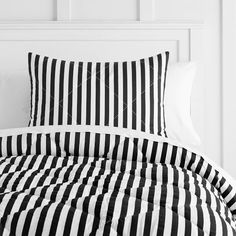 The Emily & Meritt Pirate Stripe Comforter + Sham
