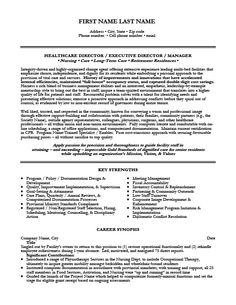 Management Resume Sample Healthcare Management Resume Examples  Healthcare Management Resume