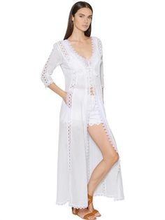 Shop for Women's Designer Clothing at REVOLVE CLOTHING. Find this season's must-have designer dresses, jeans, tops, jackets & more from top designer brands! White Lace, White Dress, White Kaftan, White White, Charo Ruiz, Stunning Wedding Dresses, Victorian Lace, Revolve Clothing, Wholesale Fashion