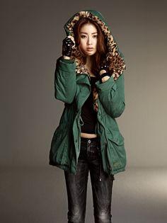 Kang So Ra Wearing a Gorgeous jacket.