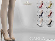 Sims 4 CC's - The Best: Madlen Carla Shoes