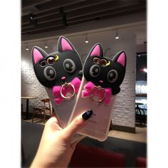 Mori Clothing Case on Mori Girl の森ガール.Mori Cute Cat 3 Color Noctilucent Iphone6/7 Case Girly Acc get yourself ready to look cute.