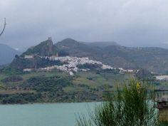 Zahara De La Sierra in Andalucía